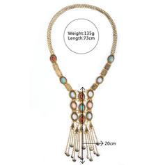 Shining Alloy With Gem Women's Beach Jewelry