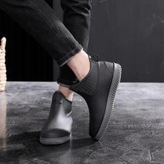 Frauen Herren Gummi Niederiger Absatz Regenstiefel mit Andere Schuhe