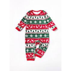 Renifer List Wydrukować Rodzinne Dopasowanie Świąteczne piżamy
