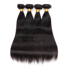 7A Straight Human Hair Human Hair Weave (Sold in a single piece)