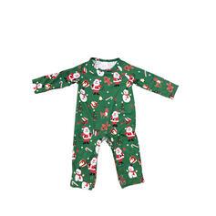 Papai Noel Cor-Bloco Carta Família Combinando Natal Pijama