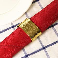 Style Vintage Acier inoxydable Rond de serviette