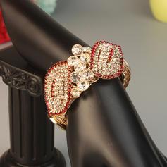 Unique Alloy Rhinestones With Rhinestone Women's Fashion Bracelets (Sold in a single piece)
