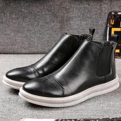 Chelsea Casual Microfiber Leather Men's Men's Boots