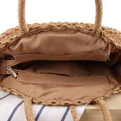 Benzersiz/Güzel/Bohem tarzı/şeritlenmiş/El yapımı Atlet çantaları/Omuz çantaları/Plaj Çantaları/Serseri çantası