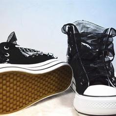 De mujer Terciopelo Tipo de tacón Planos Cerrados con Cordones Borla zapatos