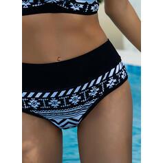 High Waist Halter Vintage Plus Size Bikinis Swimsuits