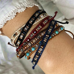 Stylish Alloy Resin Bracelets
