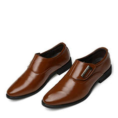 Penny Loafer Casual Trabalhos Microfibra Couro Homens Oxfords Masculinos
