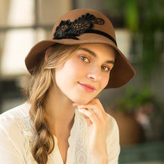 Ladies ' Glamourøse/Fancy Uld Diskette Hat