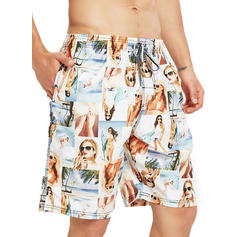 Herren Drucken Board Shorts