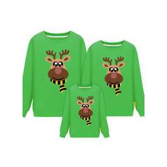 Cerf Tenue Familiale Assortie Sweatshirt