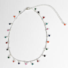 Beautiful Boho Alloy With Gem Necklaces