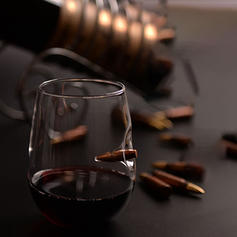 Modern Glass Wine & Champagne Glasses