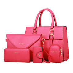 Elegant Second Cowhide Boston Bags/Bag Sets/Wallets & Wristlets