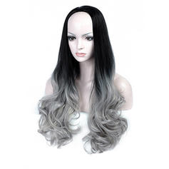 Loose Wavy Synthetic Hair Full Lace Cap Wigs