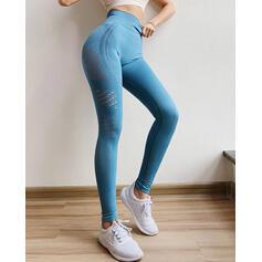 Solid Long Sexy Long Skinny Sporty Leggings