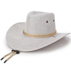 Men's Unique Linen Cowboy Hats