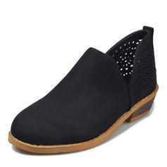 Femmes PU Talon bas Chaussures plates avec Autres chaussures
