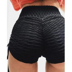 Solide Casual Sexy sportieve Shorts
