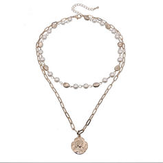 Fashionable Stylish Classic Alloy With Gold Plated Women's Necklaces