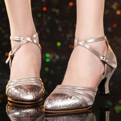 Women's Ballroom Heels Leatherette Latin