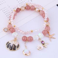 étoile de mer Alliage Femmes Bracelets de mode (Lot de 2)