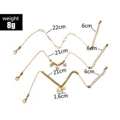 Simple Alloy Women's Beach Jewelry