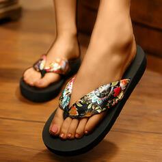 Femmes Satiné Talon bas Tongs Chaussons chaussures