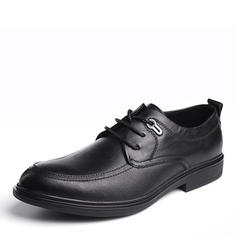 Lace-up U-Tip Dress Shoes Real Leather Men's Men's Oxfords