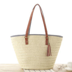 Charming Paper Rope Tote Bags/Beach Bags