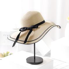 Senhoras Especial com Bowknot Chapéus praia / sol