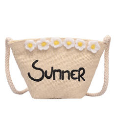 Unique Straw Crossbody Bags/Shoulder Bags/Beach Bags/Bucket Bags