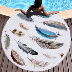 Elephant Oversized/round Beach Towel