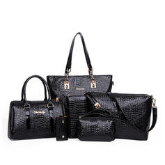 Elegant PU Tote Bags/Crossbody Bags/Boston Bags/Bag Sets/Wallets & Wristlets