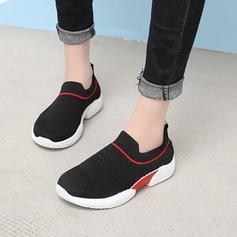 De mujer Tela Malla Casual al aire libre con Agujereado zapatos