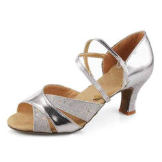 Women's Latin Heels Sandals Leatherette Latin