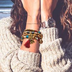 Schöne Modisch Exotisch Bügeleisen Frauen Armbänder (Satz 6)