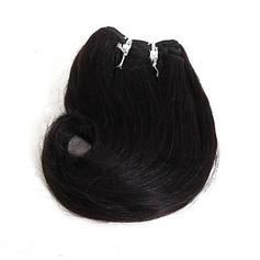 Rakt syntetiska hår Tape i hårförlängningar (Säljs i ett enda stycke) 130g
