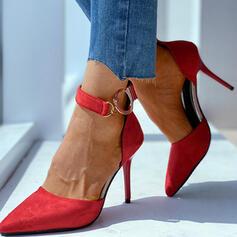 Γυναίκες Λείαντο Ψηλό τακούνι Γοβάκια Με Κέντημα-επάνω παπούτσια
