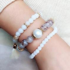 Stylish Alloy Resin With Tassels Women's Fashion Bracelets (Sold in a single piece)