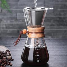 Moderno Elegante Vidro Bule de café com cesto de filtro