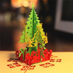 Feliz Navidad Árbol de Navidad 3D Con sobre Papel Para Tarjetas Tarjetas de felicitación Postales Invitaciones