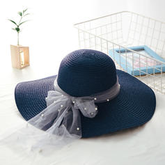 Ladies ' Smukke med Bowknot Strand / Sun Hatte