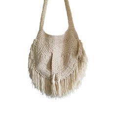 Attrayant Coton Sac en bandoulière/Sacs de plage