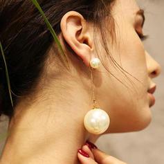 Unique Imitation Pearls Fashion Earrings