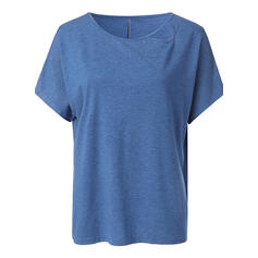 Solide Cold Shoulder Korte Mouwen Casual T-shirts