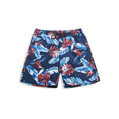 Men's Lined Hawaiian Board Shorts