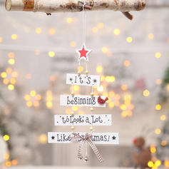 Christmas Merry Christmas Hanging Wooden