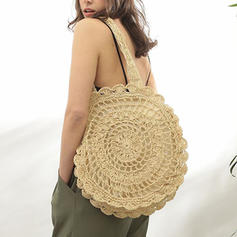 Fashionable Paper Rope Shoulder Bags/Beach Bags/Bucket Bags